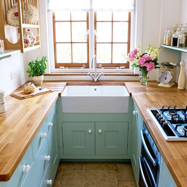 Maza virtuve su svetaine